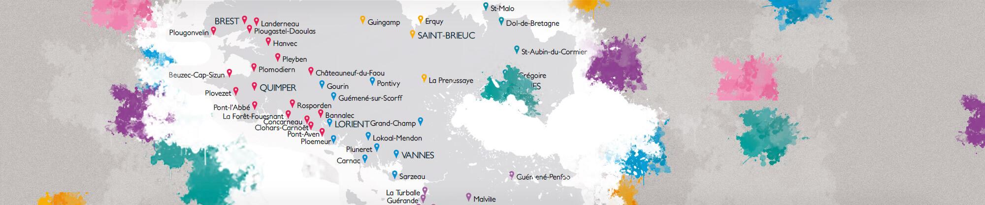 Carte Gouelioù Breizh